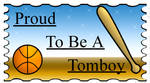 Stamp: Proud To Be A Tomboy by MidNight-Vixen