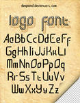 Logo Font by deepland