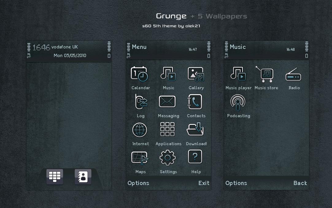 Grunge by olek21 by olek21