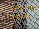 3 Fishing Net Textures