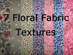 7 Floral Fabric Textures