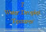 Water Droplet Textures