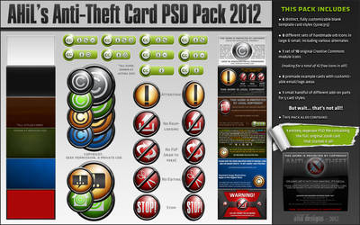 AHiL's Anti-Theft Card PSD Pack