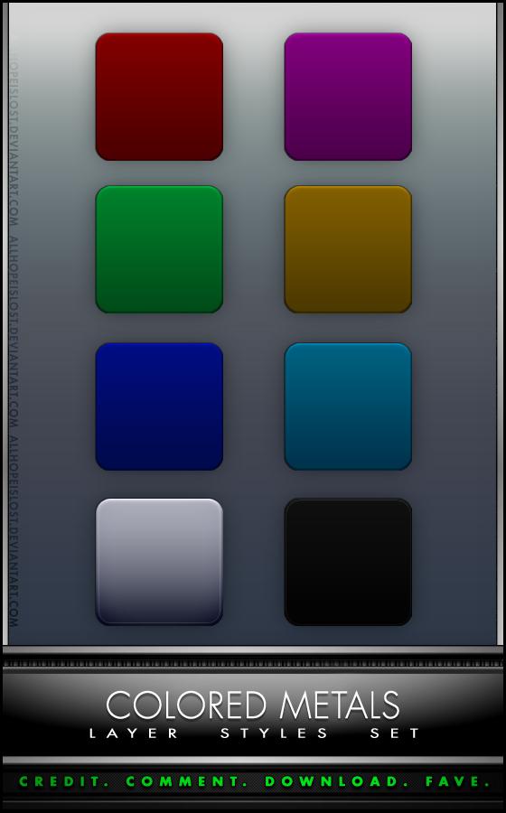 AHiL - Colored Metals