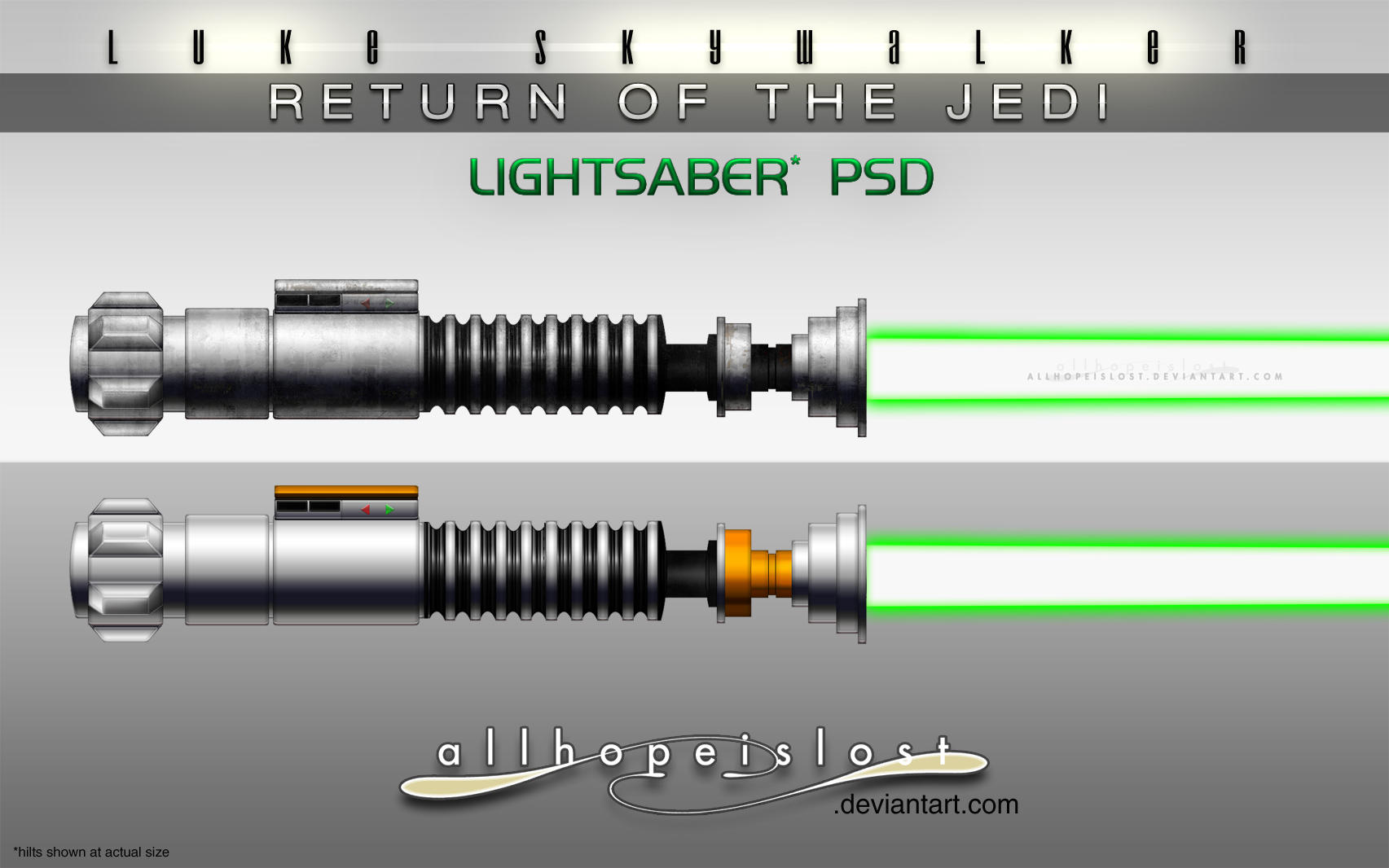 Ahil Ls Rotj Lightsabers Psd By Jesselax On Deviantart