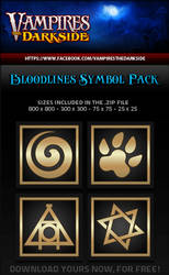 VDS Bloodlines Symbols 1 by JesseLax