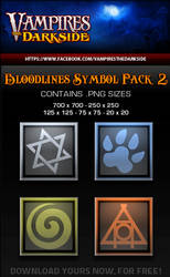 VDS Bloodlines Symbols 2 by JesseLax