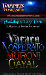 VDS Bloodline Logos Pack 1 by JesseLax