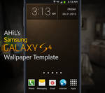 AHiL's Samsung Galaxy S4 Wallpaper Template