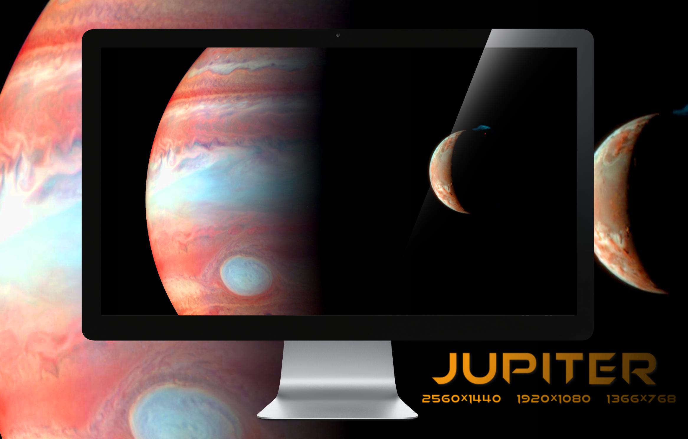 Jupiter Wallpaper Pack by miguelsanchez666