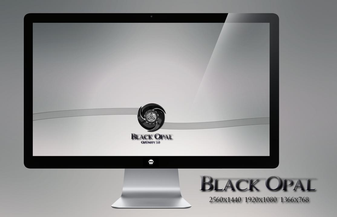 Black Opal Wallpaper by miguelsanchez666