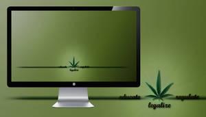 Educate Regulate Legalize Wallpaper by miguelsanchez666