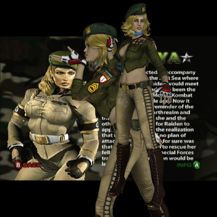 The Real 1500th Sonya Blade Deadly Alliance Mod By