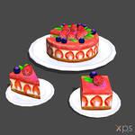 Cabbage Bowl's Strawberry Cake 2