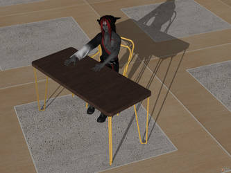 Serg's Table and Chair (set) by KoDraCan