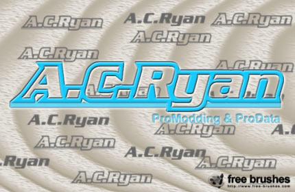 A.C. Ryan Logo Brushes by free-brushes
