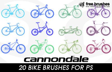 Bike Brushes by free-brushes