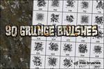 Thirty Grunge Brushes