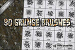 Thirty Grunge Brushes - GIMP