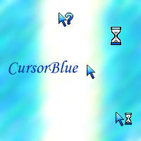 CursorBlue by Spinnetje