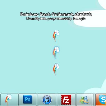 Rainbowdash cutiemark startorb by sashabunnybutt