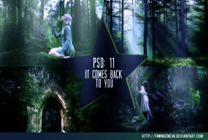 PSD 11: It Comes Back To You by fawngeneva