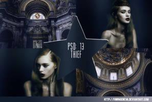 PSD 13: Thief by fawngeneva
