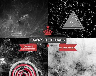 Large Texture Pack #2: Dark Magic by fawngeneva