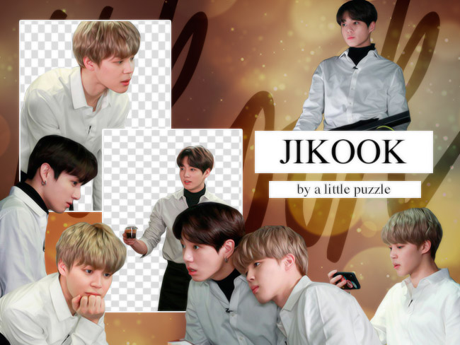 JIKOOK 01 (PNG'S) by ALITTLEPUZZLE