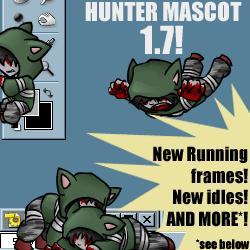 Hunter Shimeji 1.7 by zarla