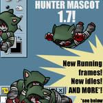 Hunter Shimeji 1.7