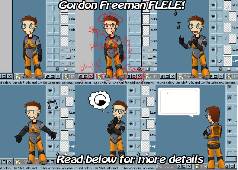 Gordon Freeman FLELE Shell by zarla