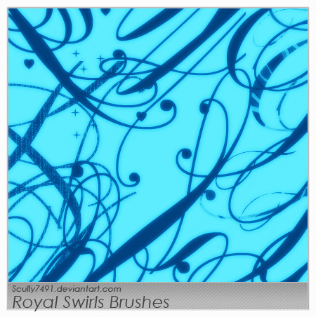 Royal Swirls