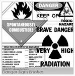 Danger Signs Brushes