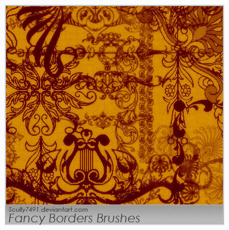 Fancy Borders by Scully7491