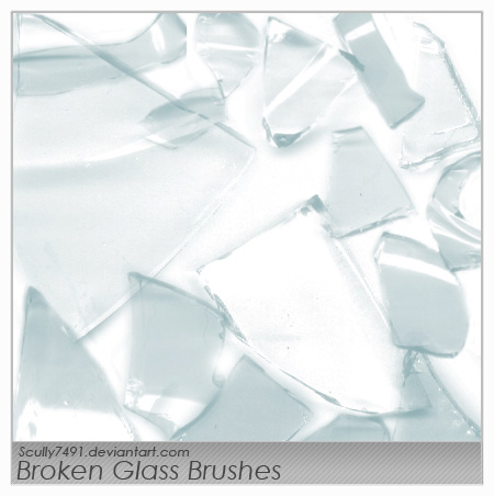Broken Glass Brushes