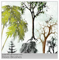 Trees Brush by Scully7491