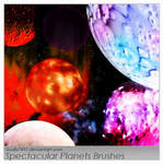 Spectacular Planets Brushes