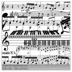 Music Brushes by Scully7491