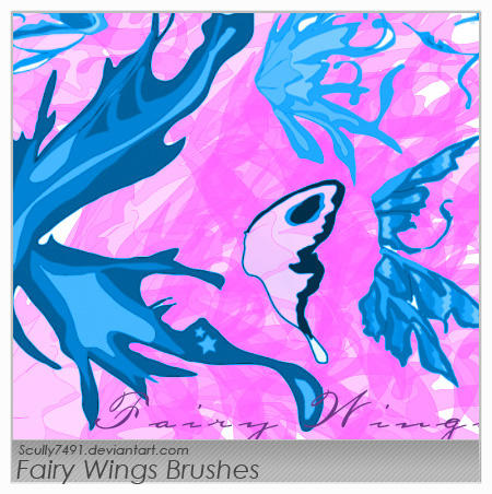 Fairy Wings Brushes By Kowaresou On Deviantart