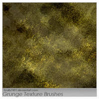 Grunge Texture Brushes by Scully7491