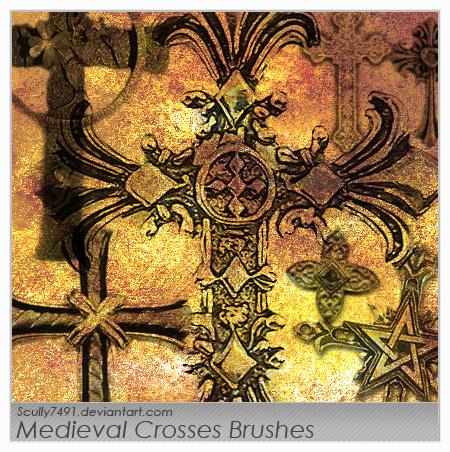 Medieval Crosses Brush