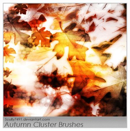 Autumn Cluster Brushes