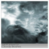 Cloudy brushes by Scully7491
