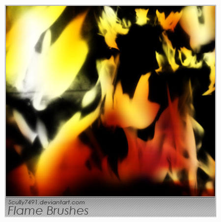 Flame Brushes by Scully7491
