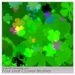 Four Leaf Clover Brushes