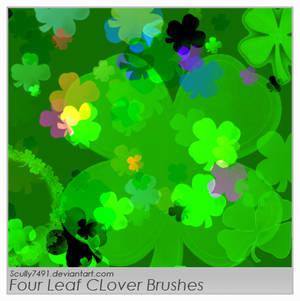 Four Leaf Clover Brushes