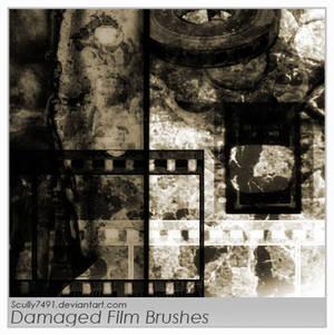 Damaged Film Brushes