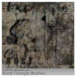 Rusty Grunge Brushes