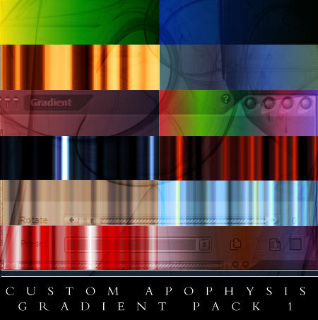 Custom Apophysis Gradients 1 by Scully7491